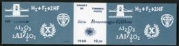 """BC 2400 A NEUF TB / PERSONNAGES Célèbres 1986, """"scientifiques"""" / Valeur Timbres : 9.8F Soit 1.49€ - Booklets"""