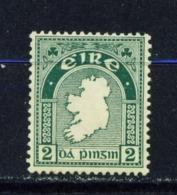 IRELAND  -  1922-23 Irish Free State First Definitives 2d Mounted/Hinged Mint - 1922-37 Stato Libero D'Irlanda