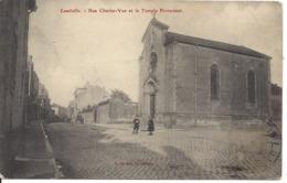 1909 - Rue Charles-Vue Et Le Temple Protestant, LUNÉVILLE, France, (D42) - Luneville