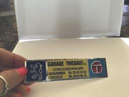 Autocollant Garage Thiébot Concessionnaire Gérardmer Corcieux Peugeot Talbot - Publicités