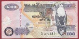 Zambie 100 Kwacha  2011   Dans L 'état N°41 - Zambie