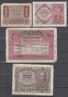 Austria 1, 2, 20 Kr - 1920/22 Used *b190910 - Austria