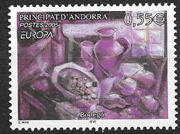 Andorre Français 2005 N° 608 Neuf Europa Gastronomie - Französisch Andorra