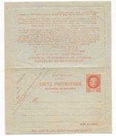 TYPE PETAIN - 1943 - CARTE-LETTRE ENTIER PNEUMATIQUE NEUVE - COTE = 40 EUR. - Postal Stamped Stationery