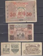 Austria 1920 Gaming / Wels Notgeld Local Paper Money Used  *b190910 - Austria