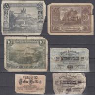 Austria 1920 Niederoesterreich / Tirol Not Geld Local Paper Money Used  *b190910 - Austria