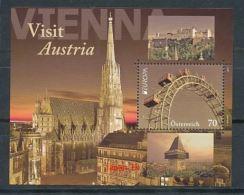 ÖSTERREICH Mi.NR Block 69 Europa - Besuche -2012 - MNH - 2012
