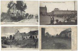 80 - SOMME - Lot De 19 CPA - GUERRE 1914-1918 - Weltkrieg 1914-18