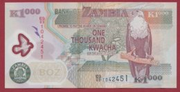 Zambie 1000 Kwacha  2011  Dans L 'état  N°47 - Zambie
