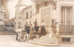 ¤¤   -   MANTES-la-VILLE   -  Carte-Photo Du Chateau à VILLIERS  -   ¤¤ - Mantes La Ville