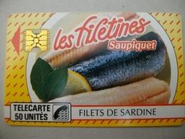 TELECARTE PRIVEE - Saupiquet Les Filetines - Frankreich