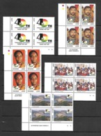 Ghana 1997 The 40th Anniversary Of Independence Blocks Of 4 MNH (D0554) - Ghana (1957-...)