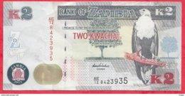 Zambie 2 Kwacha 2012 Dans L 'état N °52 - Zambie