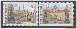 Czech Republic - Tcheque 1998 Yvert 187-88 Buildings & Monuments - MNH - Tschechische Republik