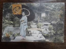CPA Jeune Fille Kimono - Tokio