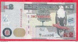 Zambie 2 Kwacha 2015 Dans L 'état N °53 - Zambie