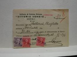 EMPOLI -- FIRENZE  ---  POLIZIA  PRIVATA -- VIGILANZA  - GUARDIE GIURATE - Italia