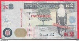 Zambie 2 Kwacha 2014 Dans L 'état N °54 - Zambie