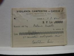 CERTALDO  -- FIRENZE  ---  POLIZIA  PRIVATA -- VIGILANZA  - GUARDIE GIURATE - Italia