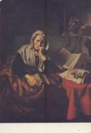 BELGIË/BELGIQUE : ## La Songeuse – Mijmernde Vrouw ##van Nicolaas MAES :  KANT,DENTELLES,LACES, - Peintures & Tableaux