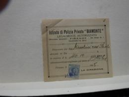 FIRENZE  ---  POLIZIA  PRIVATA -- VIGILANZA  - GUARDIE GIURATE - Italia