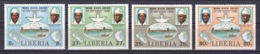 Liberia - 1980 - ( Mano River Agreement, 5th Anniversary - Mano River Postal Union, 1st Anniv. ) - Complete Set - MNH** - Liberia