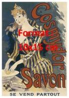 Reproduction D'une Photographie Ancienne D'une Affiche Publicitaire Cosmydor Savon - Repro's