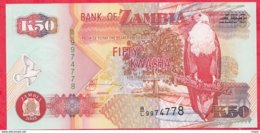 Zambie 50 Kwacha 2003 (sign 12) UNC N °56 - Zambie