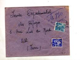 Lettre Recommandée ? Sur Mercure Iris - Postmark Collection (Covers)