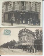 Carte Photo:Boulangerie Patisserie Baron 82 Av De La Reine Rue D'Aguesseau Boulogne Sur Seine. - Boulogne Billancourt