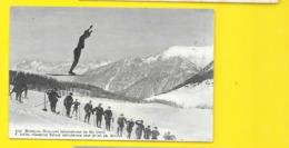 BRIANCON Concours Ski F. Isélin Suisse Au Saut (Robert) Hautes Alpes (05) - Briancon