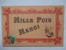 MILLE  FOIS  MERCI          TTB - Other