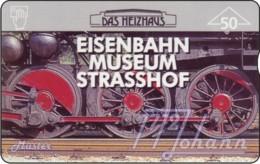 """TWK Österreich Privat: """"Eisenbahnmuseum Strasshof - 50E"""" Gebr. - Austria"""