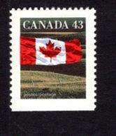 839275423 1992 SCOTT 1359 POSTFRIS MINT NEVER HINGED EINWANDFREI (XX) FLAG AND PRAIRIE - 1952-.... Elizabeth II