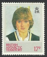 British Antarctic, 17 P. 1982, Sc # 93, MNH - Unused Stamps