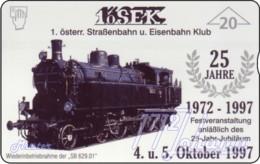 """TWK Österreich Privat: """"1.ÖSEK 1 - 25 Jahre"""" Gebr. - Autriche"""