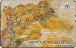 """TWK Österreich Privat: """"ANK-Kunstedition 1"""" Gebr. - Autriche"""