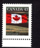 839276209 1992 SCOTT 1359 POSTFRIS MINT NEVER HINGED EINWANDFREI (XX) FLAG AND PRAIRIE - 1952-.... Elizabeth II
