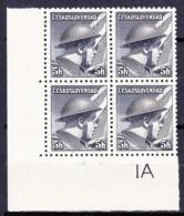 ** Tchécoslovaquie 1945 Mi 439 (Yv 387), (MNH) - Errors, Freaks & Oddities (EFO)