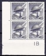** Tchécoslovaquie 1945 Mi 439 (Yv 387), (MNH) - Variétés Et Curiosités