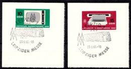 DDR 1966  Mi.nr. 1204-1205 Leipziger Herbstmesse  OBLITÉRÉS-USED-GEBRUIKT - [6] République Démocratique
