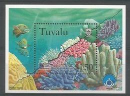 Tuvalu 1998 Corals S/S  Y.T. BF 64 ** - Tuvalu