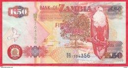 Zambie 50 Kwacha 2009 (sign 12) Dans L 'état N °60 - Zambie