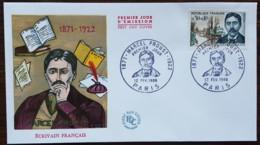 FDC 1966 - YT N°1472 - MARCEL PROUST - PARIS - FDC