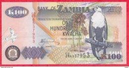 Zambie 100 Kwacha 2003 (sign 12)  UNC N °61 - Zambia