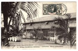 DAHOMEY - COTONOU - 18 - Maison ARMANDON - Ed. Coll Générale Dantan - Dahome
