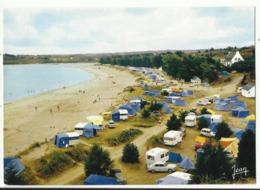29. Locquirec - La Grande Plage Et Le Terrain De Camping - Locquirec