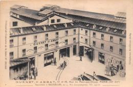 """PARIS -  Maison """" GUENET Et ABBAT """" 13 Et 15 Rue Du Pont-aux-Choux - Cuivrerie, Tolerie, Eclairage, Chauffage - Arrondissement: 03"""