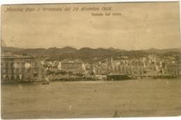 12030 - Messina - Messina Dopo Il Terremoto Del 28 Dicembre 1908 - Veduta Dal Mare - Messina