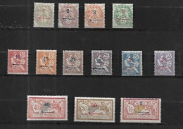 Maroc 1911 - 1917  Cat Yt  N°   35 à 26   N* MLH - Collections (en Albums)